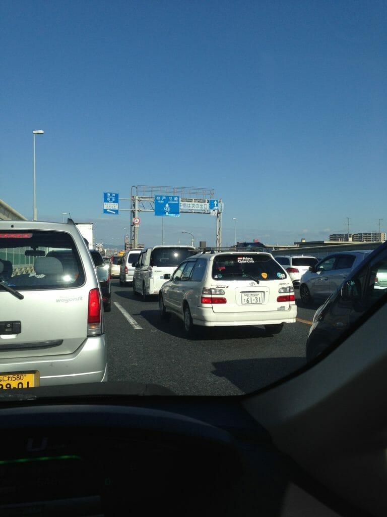 休日の渋滞