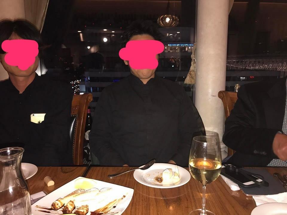 秘密の会合 in Tokyo