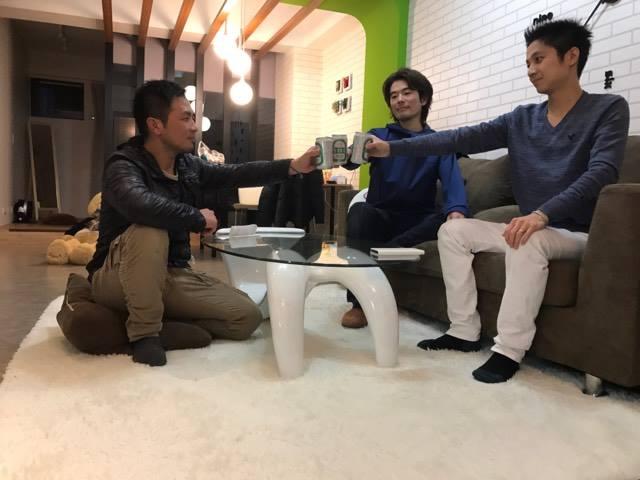 飲み明かす in 台北
