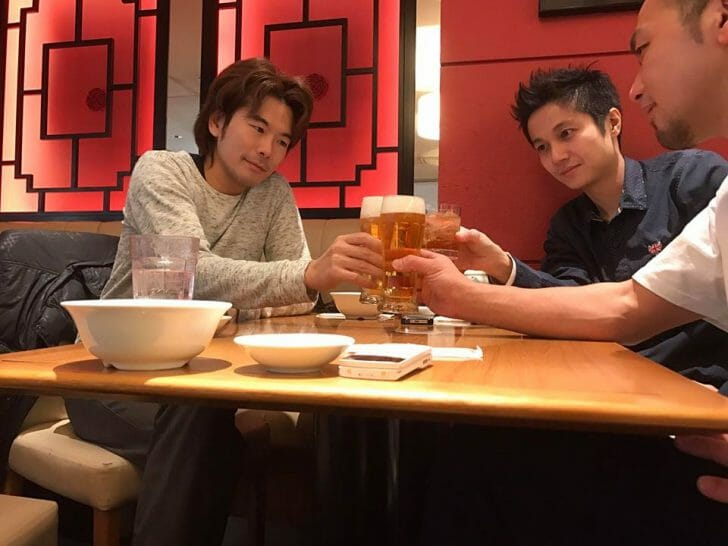 東京での会合