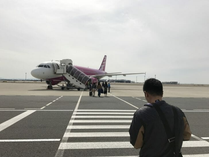 LCCピーチで沖縄へ!