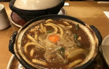 山本屋総本山の味噌煮込みうどん