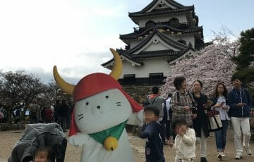家族5人で彦根城へ!