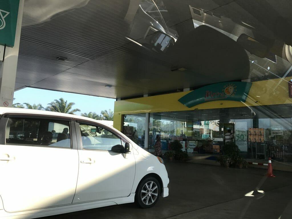 クアラルプールのガソリンスタンド
