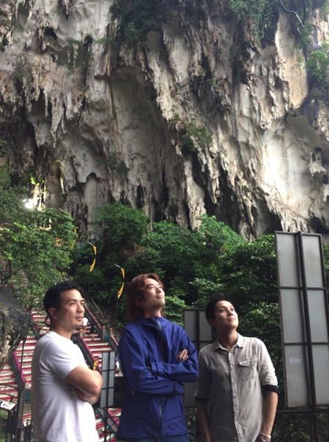 バトゥ洞窟 with 三武将