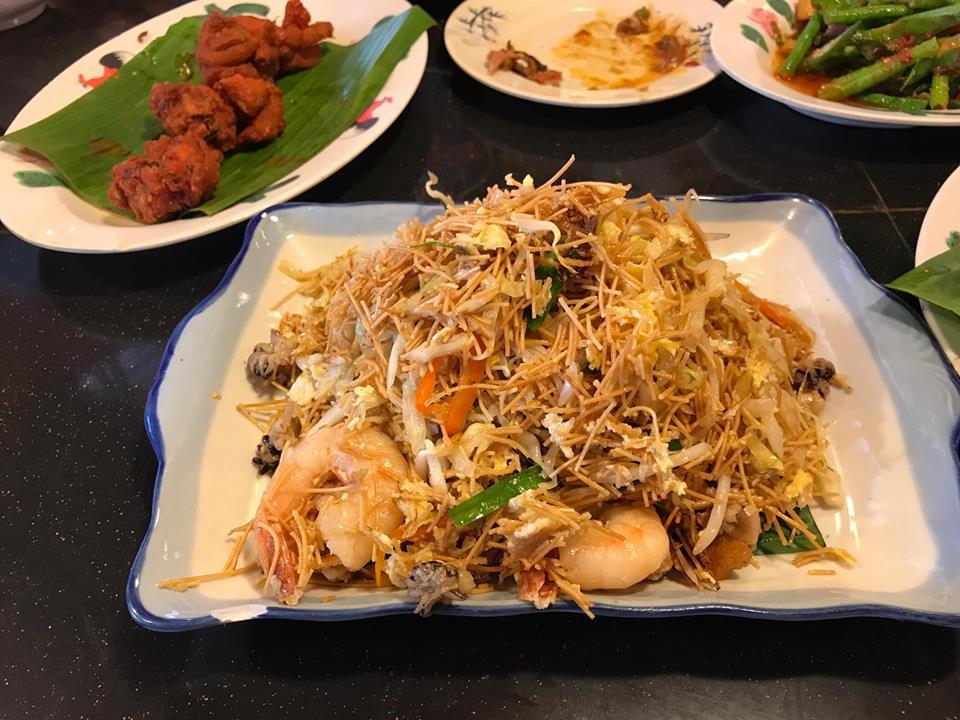 チャイナタウン中華料理屋の料理