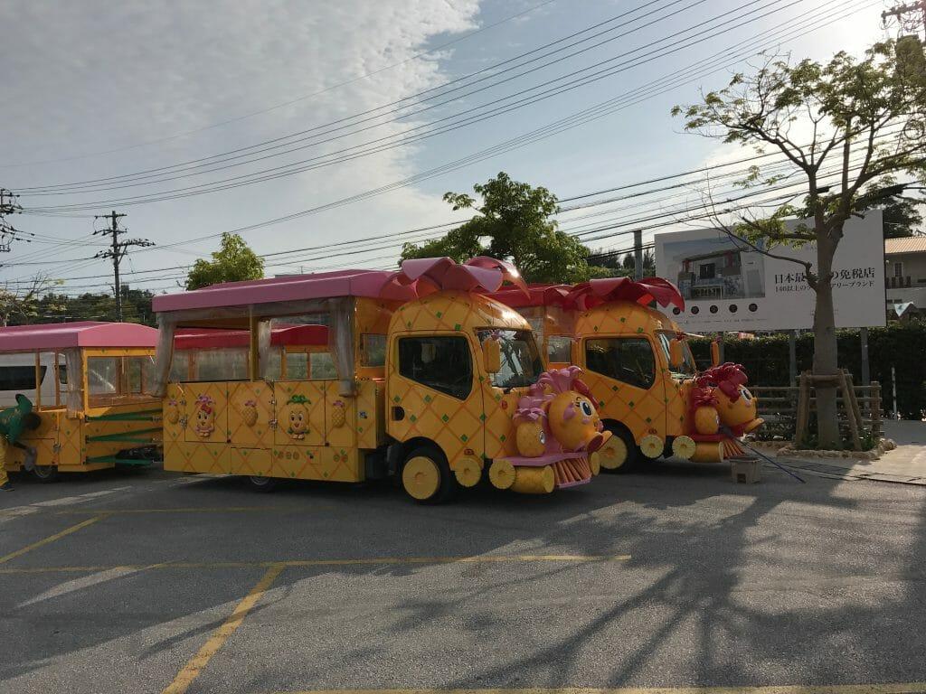 パイナップルパークバス