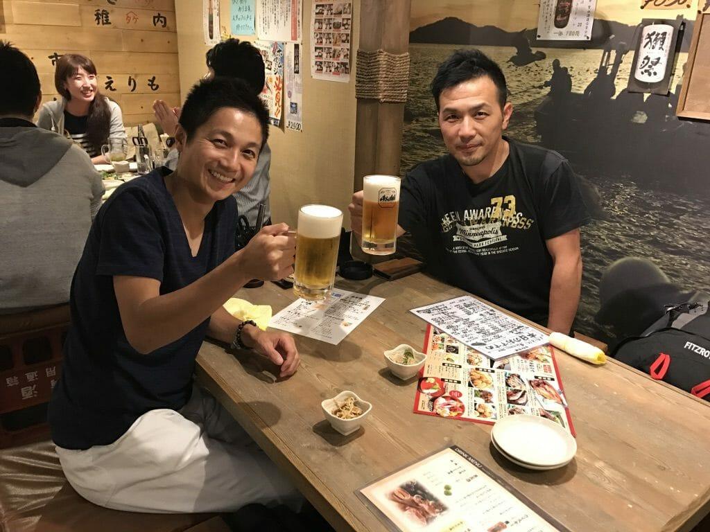 北海道で乾杯!