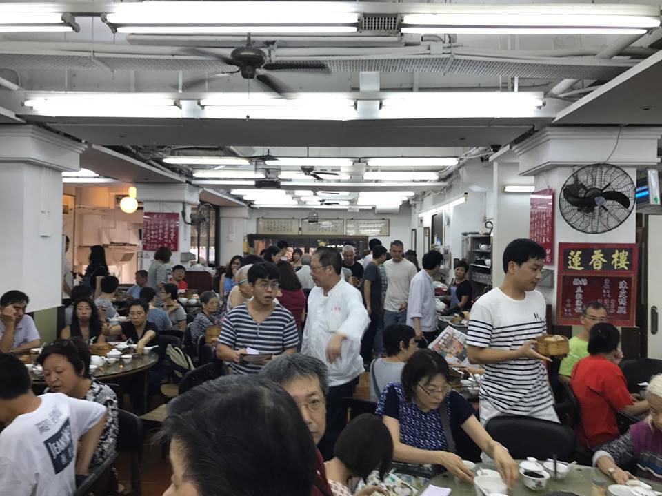 香港地元のレストラン