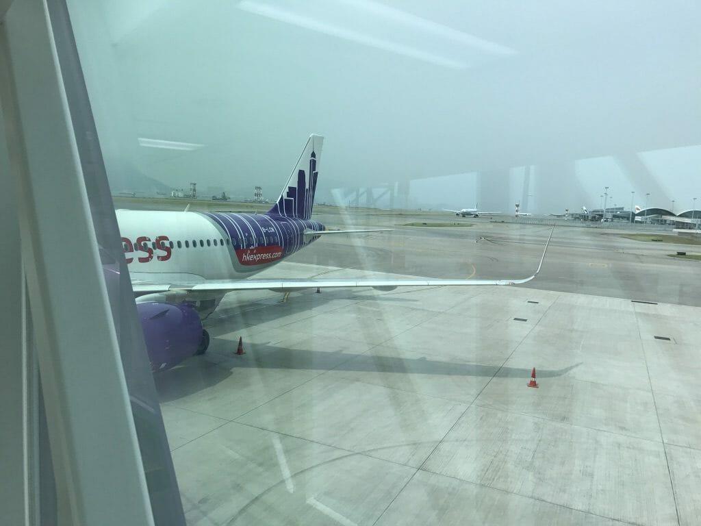 香港から関空へ